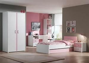 chambre enfant complete contemporaine blanche et rose With chambre bébé design avec livraison fleurs bruxelles pas cher