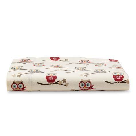 cannon flannel sheet owls home bed bath
