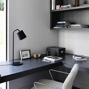Bureau Plan De Travail : bureau avec un plan de travail noir ~ Preciouscoupons.com Idées de Décoration