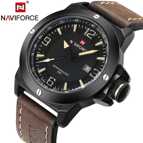 2017 New Luxury Brand Naviforce Men Classic Military