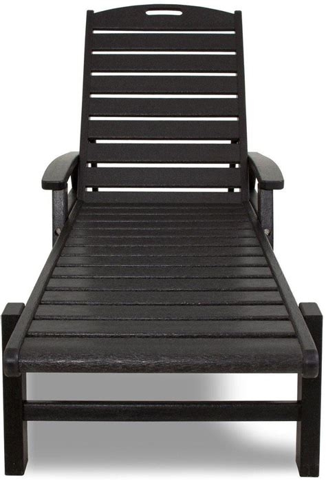 Chaise Chair With Arms by Trex Yacht Club Chaise Lounge With Arms