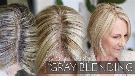 Blending Gray Hair With Highlights And Lowlights