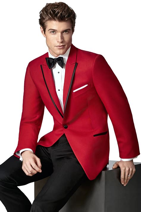 savvi black label red tuxedo carter tuxedo central