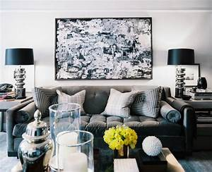 Black White And Grey Living Room | Marceladick.com