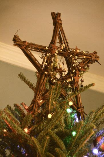 our tree topper from primitive country crafts