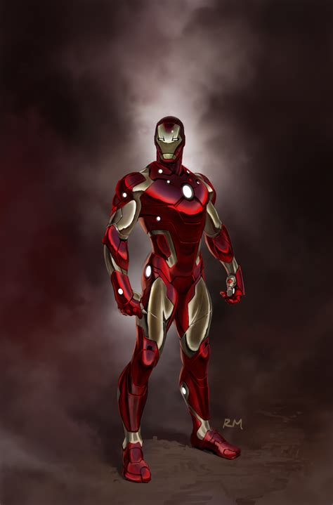iron man s new armor iron man armor comic vine