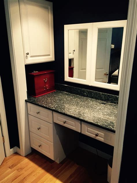 Closet Cupboards by Makeup Jewelry Area In Closet Space By Ragonese