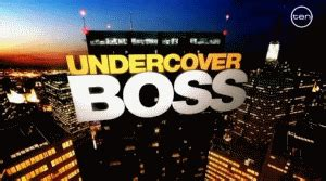 undercover boss american tv series wikipedia