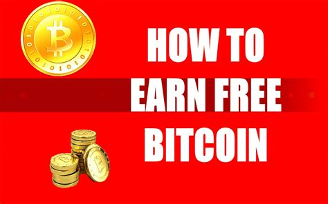 How To Get Free Bitcoin !!! Chance To Earn 1 Bitcoin A Day