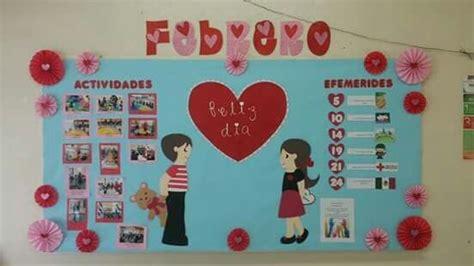 Periodico mural de febrero / february bulletin board