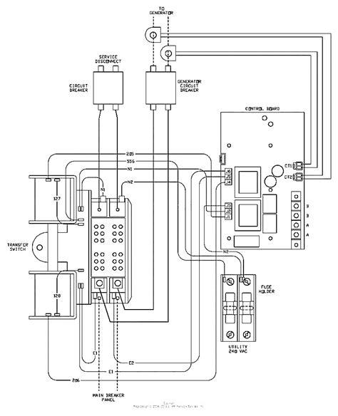 generac 200 transfer switch wiring diagram free