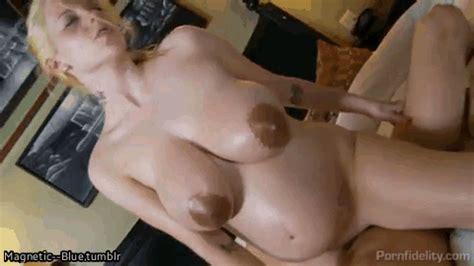 Busty Blonde Pregnant Porn Gifs