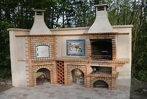 Brique Refractaire Pas Cher : vente barbecues en brique et pierre four pizza fdj ~ Dallasstarsshop.com Idées de Décoration