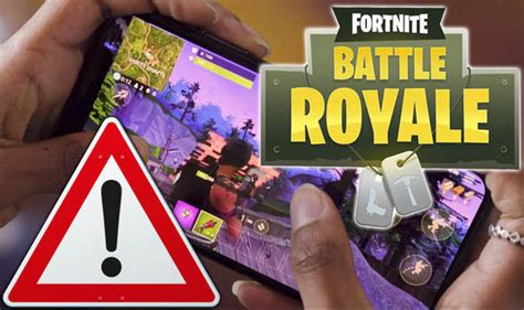 fortnite mobile warning    code
