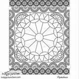 Coloring Notions Sewing Quilt Therapy sketch template