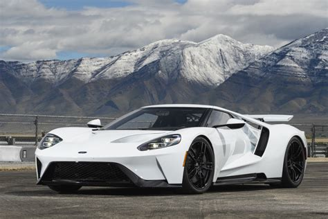 6 Just-revealed Secrets About The 2017 Ford Gt, The Most