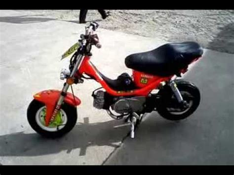 yamaha chappy modificada  youtube