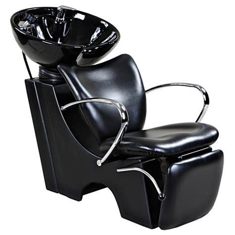 quot quot black salon backwash chair sink bowl