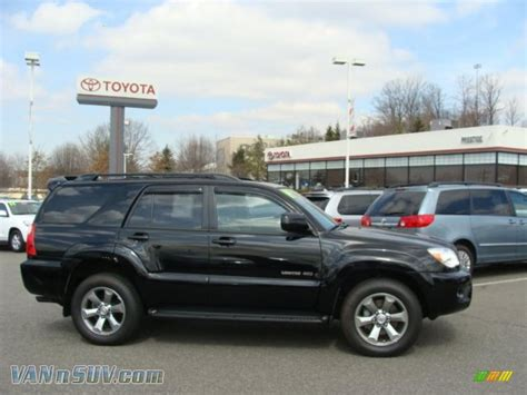 2009 Toyota 4runner Limited 4x4 In Black 037630