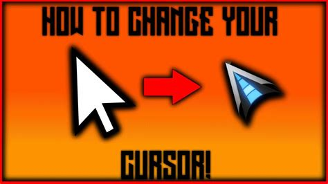 How To Change Your Cursor