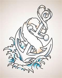 Auger Valve Image: Tattoo Anchor Designs
