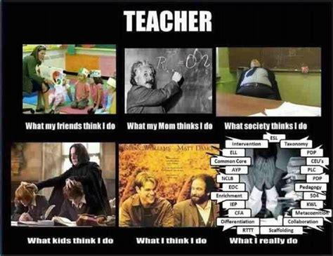 What I Really Do Meme - what teachers really do