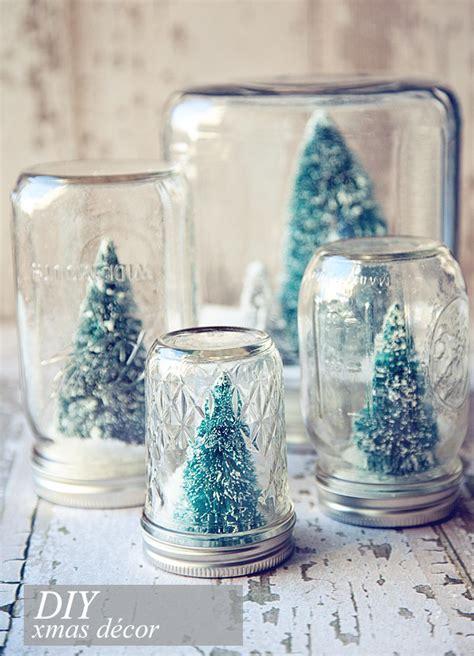 vasi di vetro decorati barattoli di vetro decorati per natale di