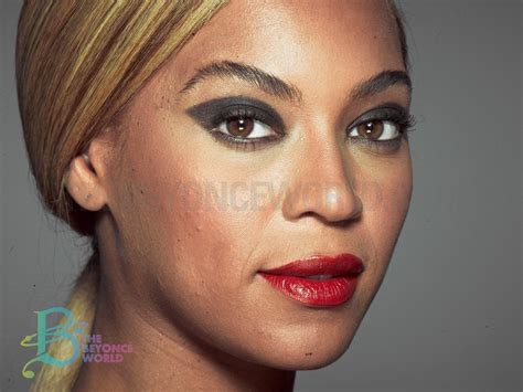 BEYONCE – Beyonce's 2013 L'oreal Ad Campaign, Unretouched ...