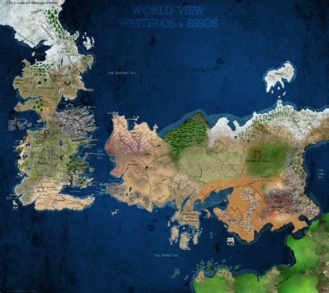 spoilersone    detailed maps  westeros