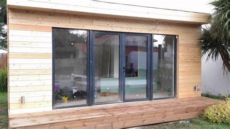 studio de jardin extension bois bureau de jardin davinci loft