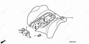 Honda Atv 2003 Oem Parts Diagram For Rear Fender  Trx300ex