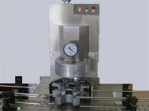 benchtop vacuum capping machine semi automatic vacuum capper equipment  glass bottles