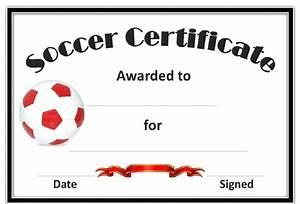 Sport Certificate Templates Template Sport Certificate Template