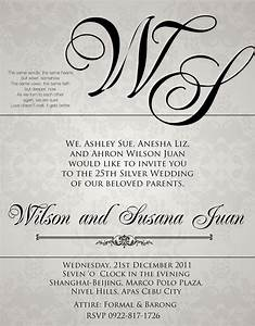 wedding invitation wording sample criolla brithday With sample pictures of wedding invitations