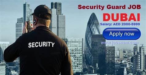 security guard in dubai 2017 apply now