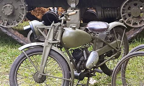 James 1943 Ml 125cc Military