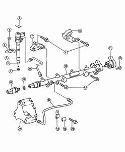 2004 Dodge Sprinter 3500 Tube  Fuel Injector Supply  After Engine Serial  30029438