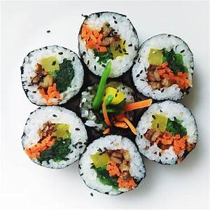 Korean food photoKimbap! Maangchi com