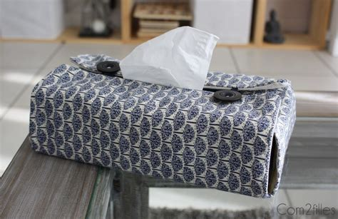 couture facile diy housse boite 224 mouchoirs couture