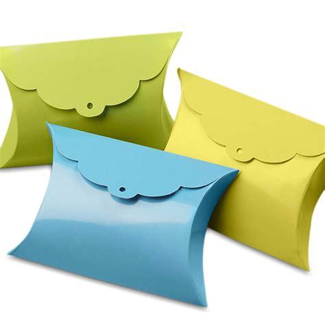 pillow box tab pillow favor boxes
