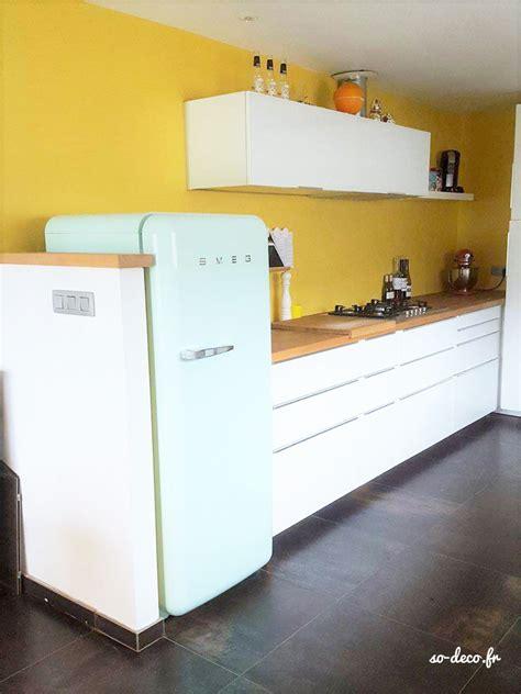 cuisine blanche mur best cuisine blanche mur jaune contemporary seiunkel us