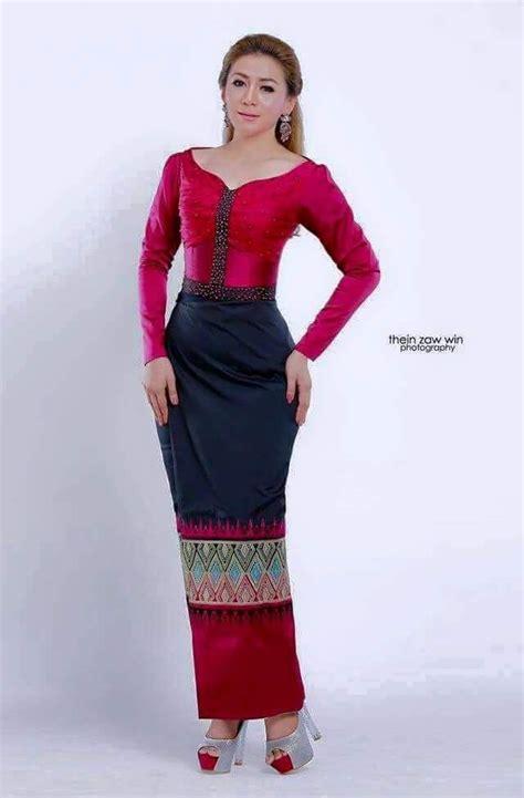 myanmar dress myanmar dress simple pinterest dress