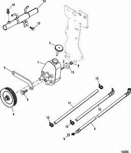 Mercruiser 350 Mag Mpi Alpha    Bravo Power Steering Components Parts