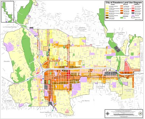 general plan adopted land  diagram planning