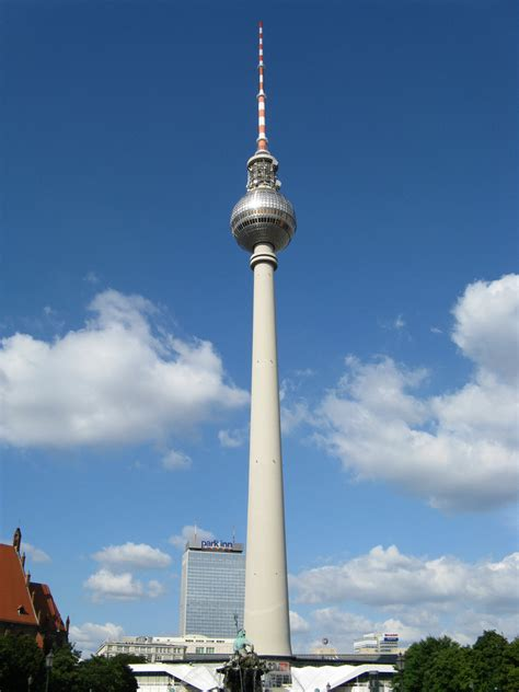 fernsehturm de berlin torre de television de berlin