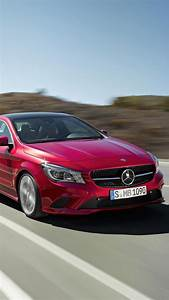 Mercedes Benz Cla Class Red