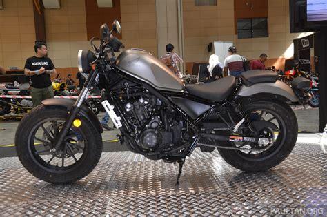 Honda Rebel 500 Dilancarkan Di Malaysia