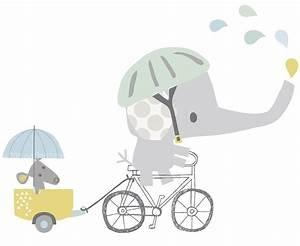 Wandtattoo Elefant Kinderzimmer : lilipinso xl wandtattoo 39 elefant auf fahrrad 39 grau blau 66cm bei fantasyroom online kaufen ~ Sanjose-hotels-ca.com Haus und Dekorationen