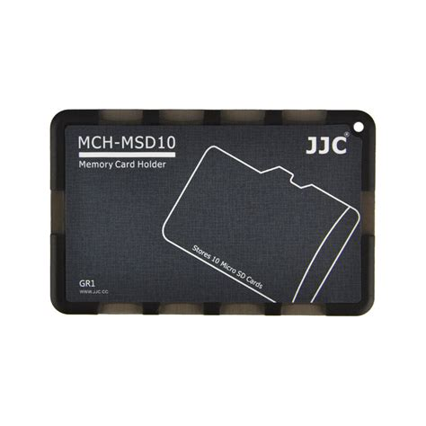 jjc mch msdgr pocket credit card size memory card holder