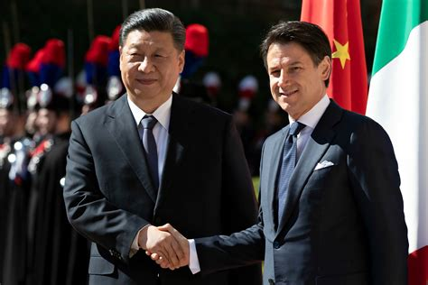 Il premier giuseppe conte, che interviene mercoledì, nei giorni cruciali della crisi di governo a cui gli altri partner ue. Italy Signs Onto Beijing's Belt and Road Economic ...